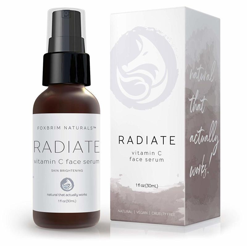 Foxbrim Naturals Radiate Vitamin C Face Serum. (Credit: Amazon)