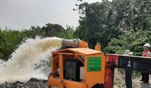防範輕度彩雲颱風 七河局完成防汛整備