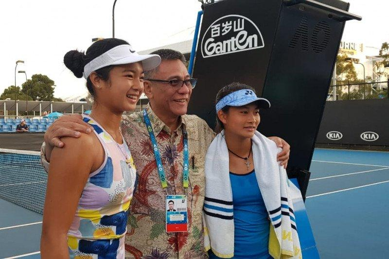 Priska Nugroho juarai ganda putri junior Australian Open