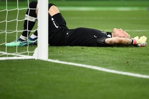 Karius made two dreadful errors in Liverpool's 3-1 Champions League final loss to Real Madrid last May