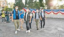 40國安警搜中大 港獨分子慢慢拉