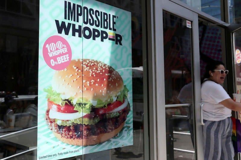 Burger King digugat konsumennya terkait tuduhan kontaminasi produk vegan