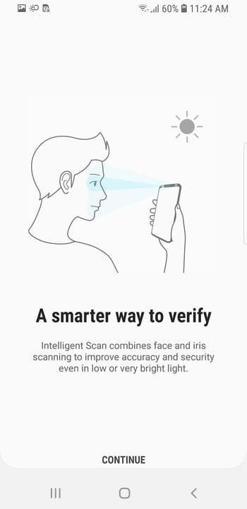 galaxy s9 tips and tricks intelligent scan 1 update
