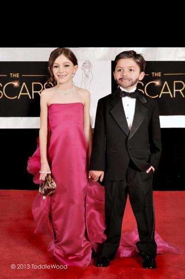 Oscars turned toddler-sized - Jennifer Garner and Ben Affleck
