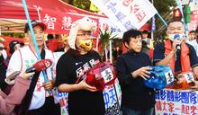 反萊豬 陳玉珍號召民眾參與秋鬥遊行 (圖)