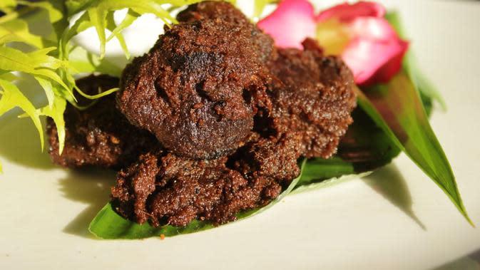 Rendang kuliner khas Minangkabau