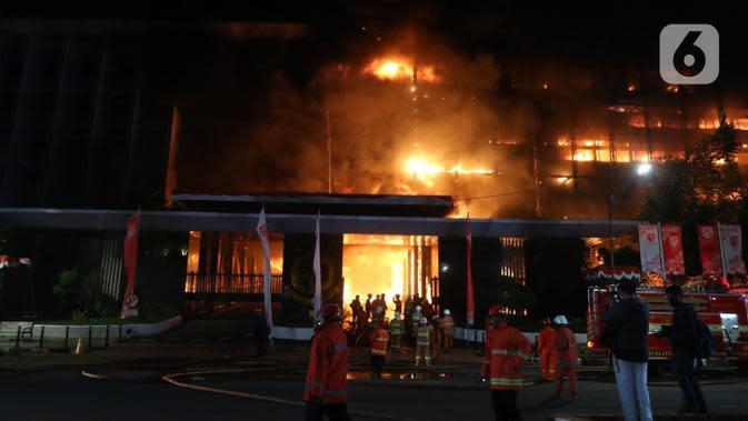 Gelar Olah TKP Kebakaran Kejaksaan Agung, Ini yang Dicari Polisi