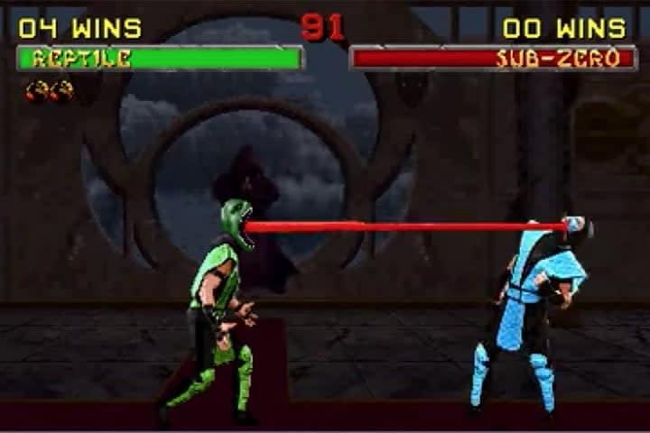 Reptile – Tongue Lash | Best Mortal Kombat Fatalities