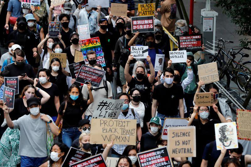 Black Lives Matter protest in Tokyo