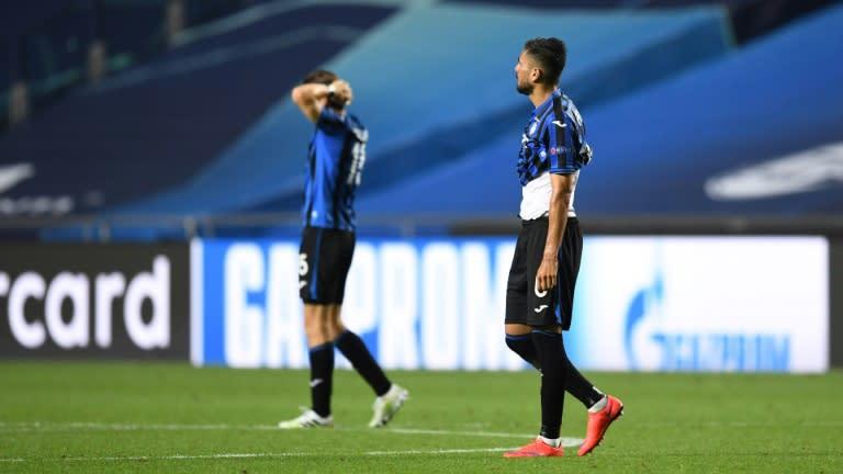 Atalanta turn to next season after 'bitter' Champions League exit
