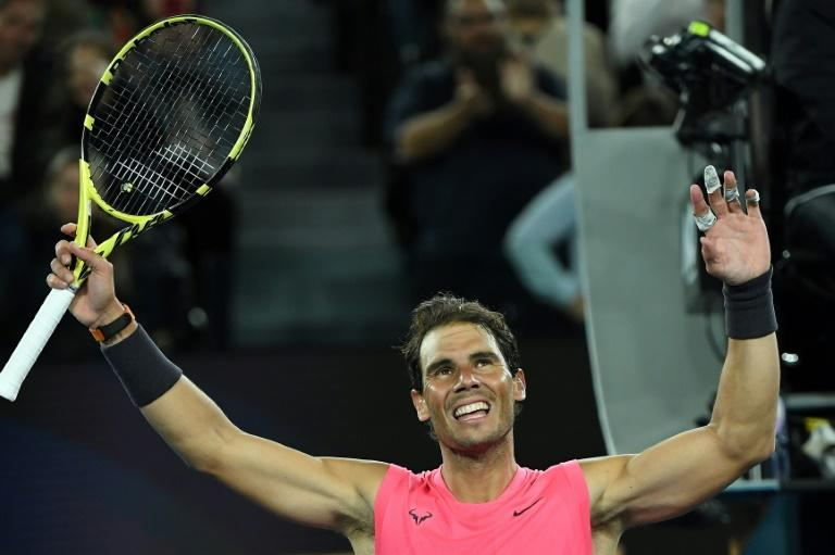Nadal wastes chances as Delbonis frustrates him