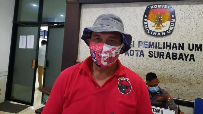 Kubu Eri Cahyadi-Armuji Protes Nama Jokowi Tercantum Dalam APK Machfud Arifin-Mujiaman