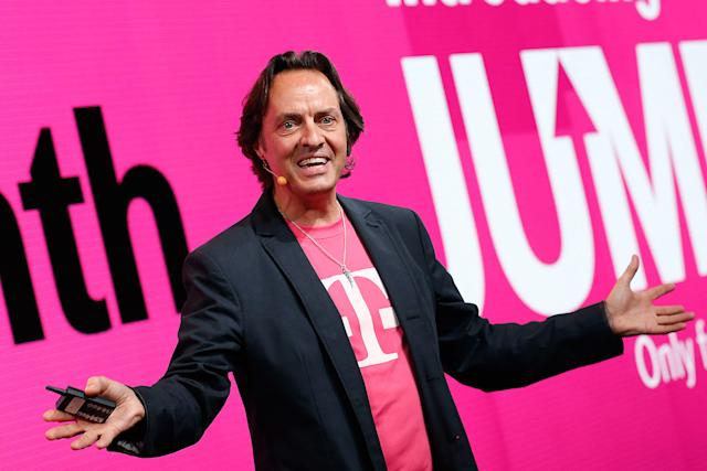 T-Mobile CEO John Legere can't stop laughing at Verizon and its Yahoo purchase