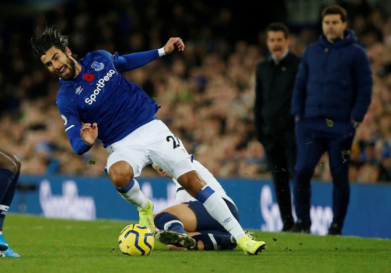 Gomes ready to return against Arsenal, says Everton boss Ancelotti