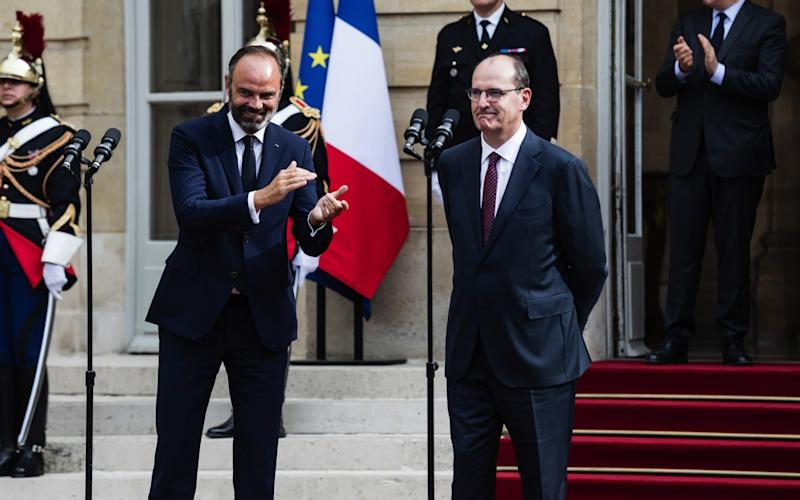 Jean Castex, right, who replaced Édouard Philippe was mayor of the small southern town of Prades