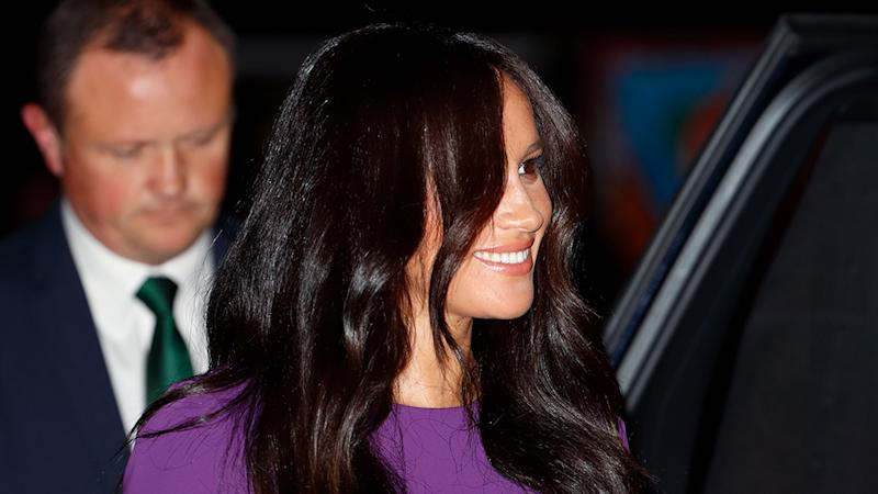 Meghan Markle had her first solo outing since the documentary at the One Young World Summit. Photo: Getty Images