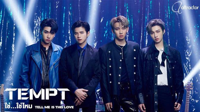 TEMPT boyband asal Thailand