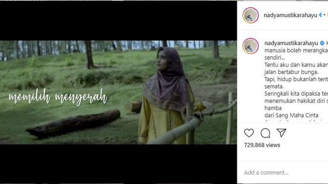 Istri Rizki 2R, Nadya Mustika Rahayu (Foto: Instagram/@nadyamustikarahayu)