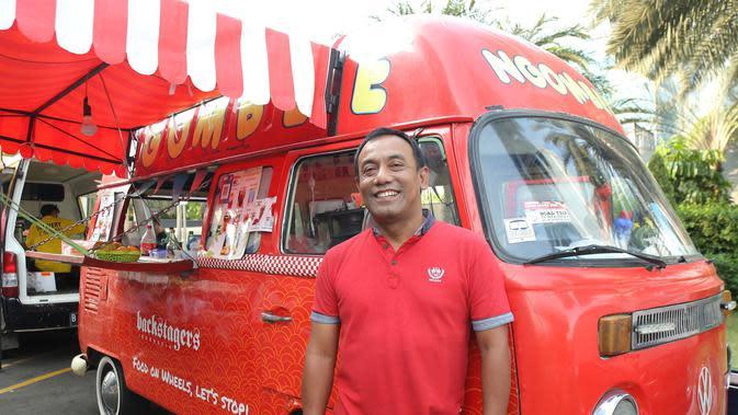 Ketua Komunitas Food Truck Jakarta Joko Waluyo. (Fimela.com/Daniel Kampua)