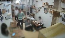 畫面曝光!宜蘭咖啡廳老闆「洗碗突倒地」客人急分工救援