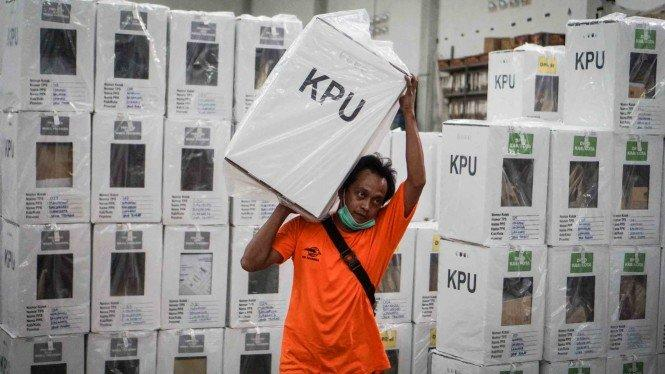 Calon Tunggal Vs Kotak Kosong, KPU Kediri Tetapkan DPT 1.231.512 Orang