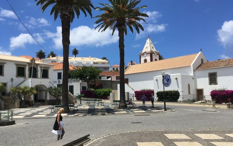 Porto Santo - the capital ofVilla Baleira