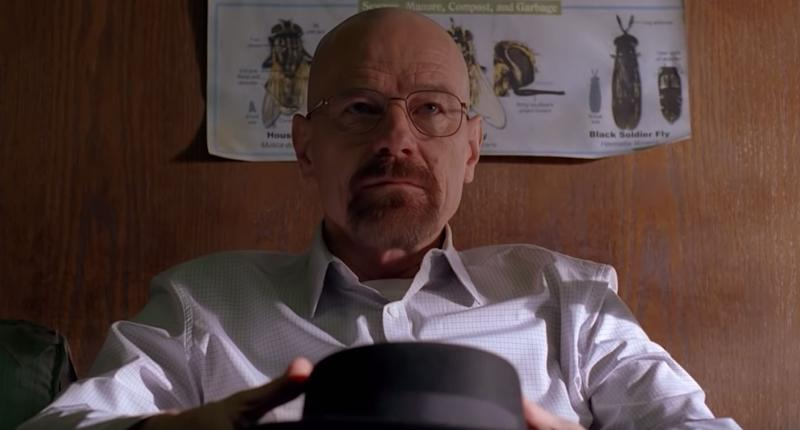 Bryan Cranston as Walter White in the AMC TV series Breaking Bad.