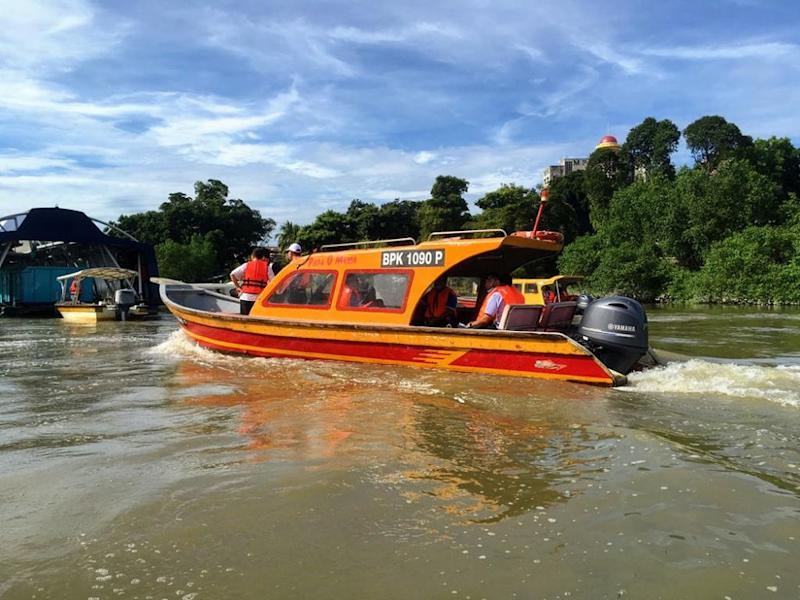 Each vessel can accommodate 10 passengers and will cruise down a 15-kilometre stretch of the river. — Picture courtesy of Landasan Lumayan