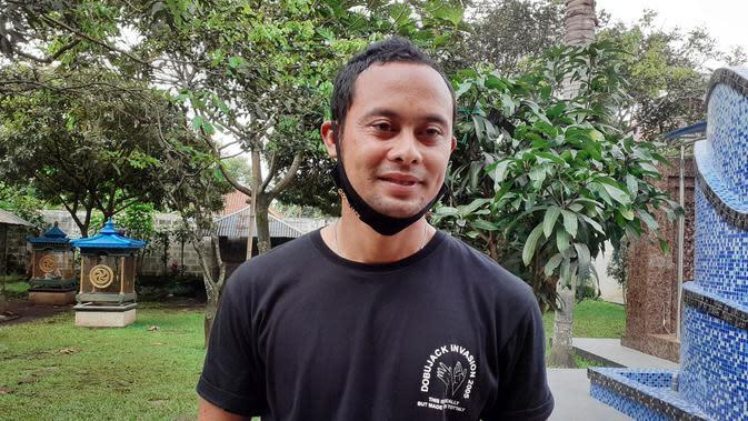 Mantan kapten Persib Bandung, Atep. (Bola.com/Erwin Snaz)