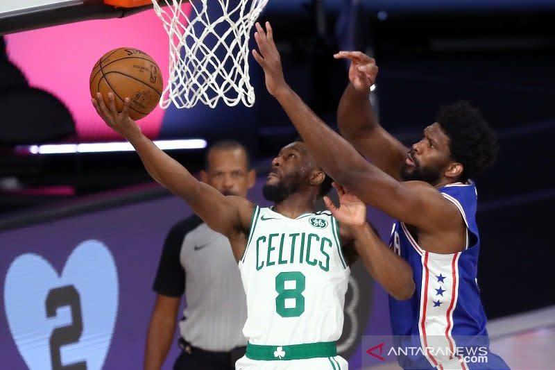 Celtics singkirkan Sixers lewat kemenangan sapu bersih