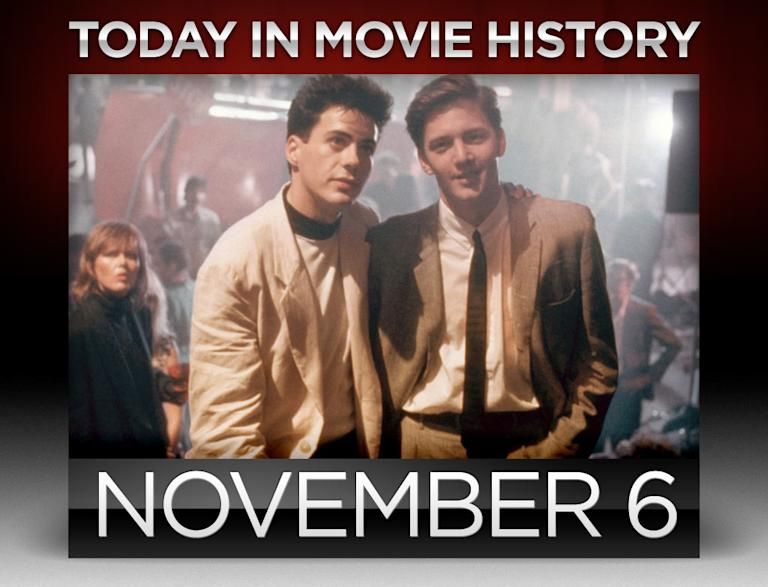 today in movie history, november 6