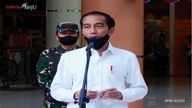 Jokowi Prediksi Puncak COVID-19 di Indonesia Agustus atau September