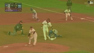 木屐繳4支4猛打賞 Mookie Betts成功扮演巨人殺手【MLB球星精華】20211015