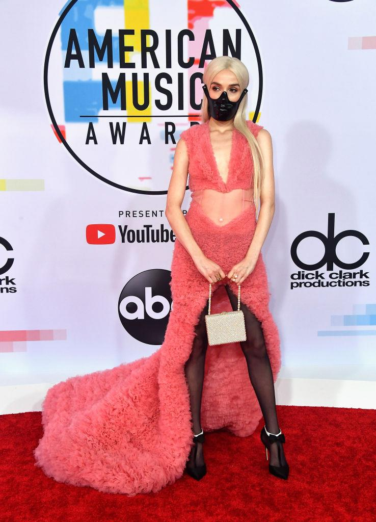 2018 American Music Awards red carpet Poppy