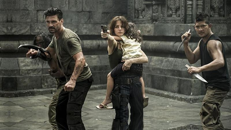Frank Grillo in Beyond Skyline
