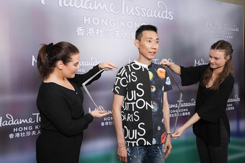 Datuk Lee Chong Wei's wax figure is slated to be unveiled in the second quarter of 2020. — Picture courtesy of Madame Tussauds Hong Kong