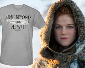 Weekly 'Game of Thrones' Giveaway: King Beyond the Wall T-Shirt