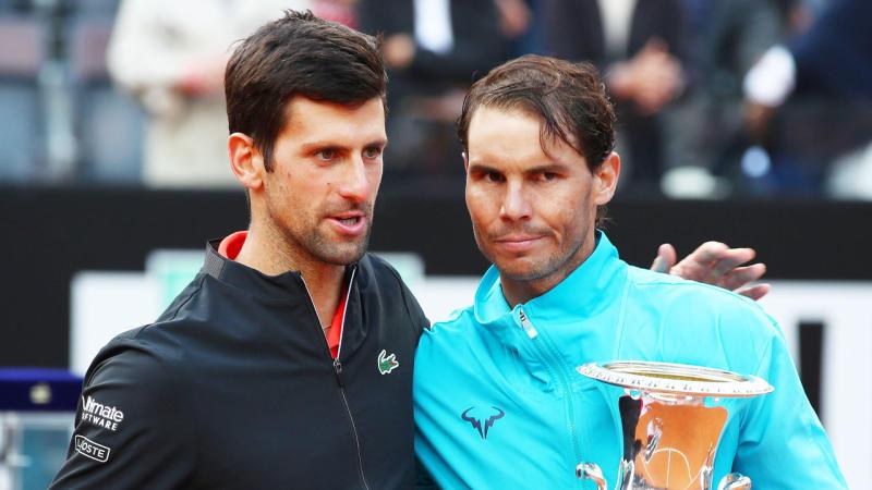 Wimbledon 2021 Nadal Djokovic