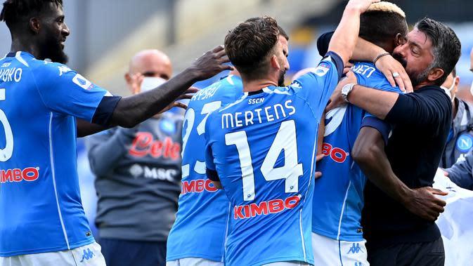 Liga Italia: Napoli Tampil Menggebrak, Bungkam Atalanta di San Paolo
