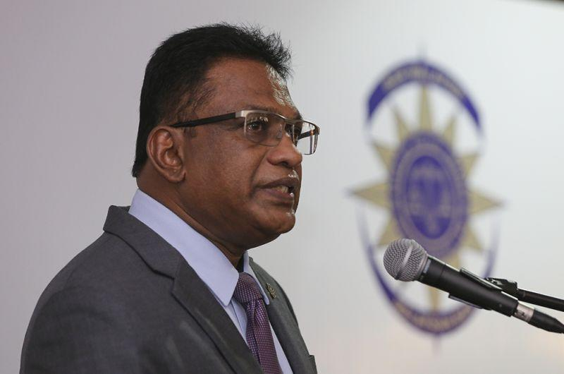 Malaysian Bar president George Varughese said that the Bar was aghast that four persons have been detained under the Act in the first 11 days of the year for making allegedly offensive remarks on social media. — Picture by Azneal Ishak