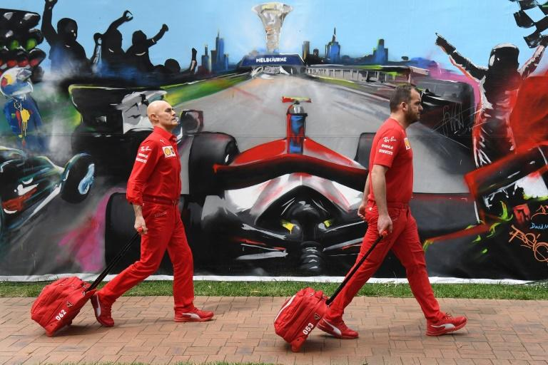 Formula One's Australian Grand Prix was cancelled on Friday