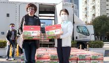 鳳梨釋迦產期 盧秀燕行銷逾3萬斤