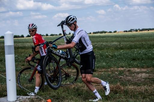 Chris Froome's bid for a record-equalling fifth Tour de France title got off to a shaky start Saturday after a dramatic crash left him 51 seconds down on rivals, Fernando Gaviria claiming the yellow jersey after a bunch sprint rounded off the first stage