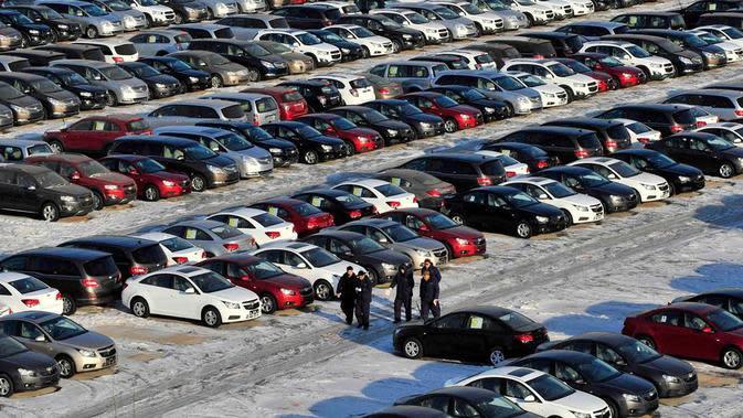 Dihajar Pandemi, Penjualan Mobil di Negara Ini Turun Hampir 100 Persen