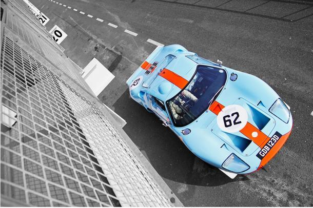 GT40 from above: Flickr photo of the day