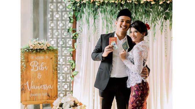 Vanessa Angel menikah (Sumber: Instagram/aspictura_)