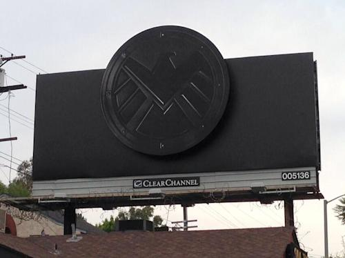 'Marvel's Agents of S.H.I.E.L.D.' Billboards Keep It Simple [Photo]