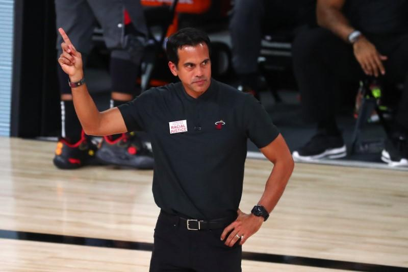 Heat coach says LeBron's longevity is 'testament to his greatness'