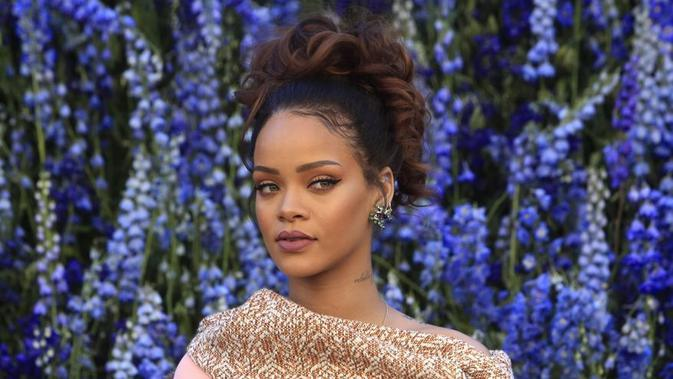 Rihanna menyebutkan cerita lucunya saat harus melakukan diet (Thibault Camus/AP Photo)