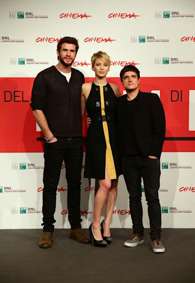 'The Hunger Games: Catching Fire' Photocall - The 8th Rome Film Festival